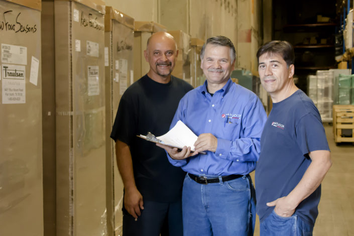 M Tucker Warehouse Workers